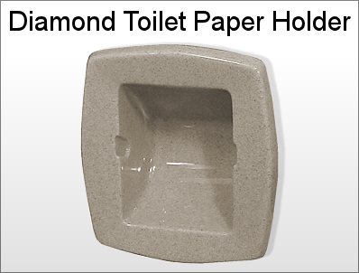Diamond Toilet Paper Holder