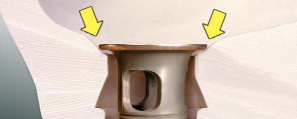 Flat-thick Drain Traps Water