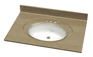 Recessed Oval Single Bowl