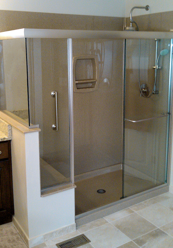 All Standard Full Height Shower Bases We Have Available Are Listed On This  Page. Other Standard Bases Include: Low Profile, Neo Angle, Double  Threshold, ...