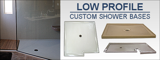Low Profile Shower Base Shower Pan